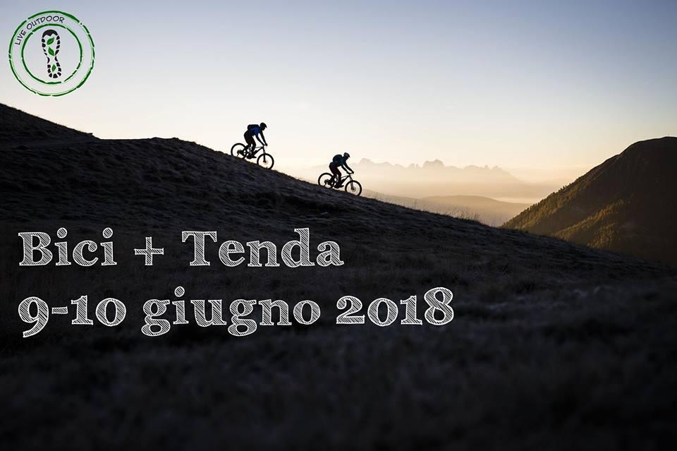 9 giugno 2018 – Bici + Tenda