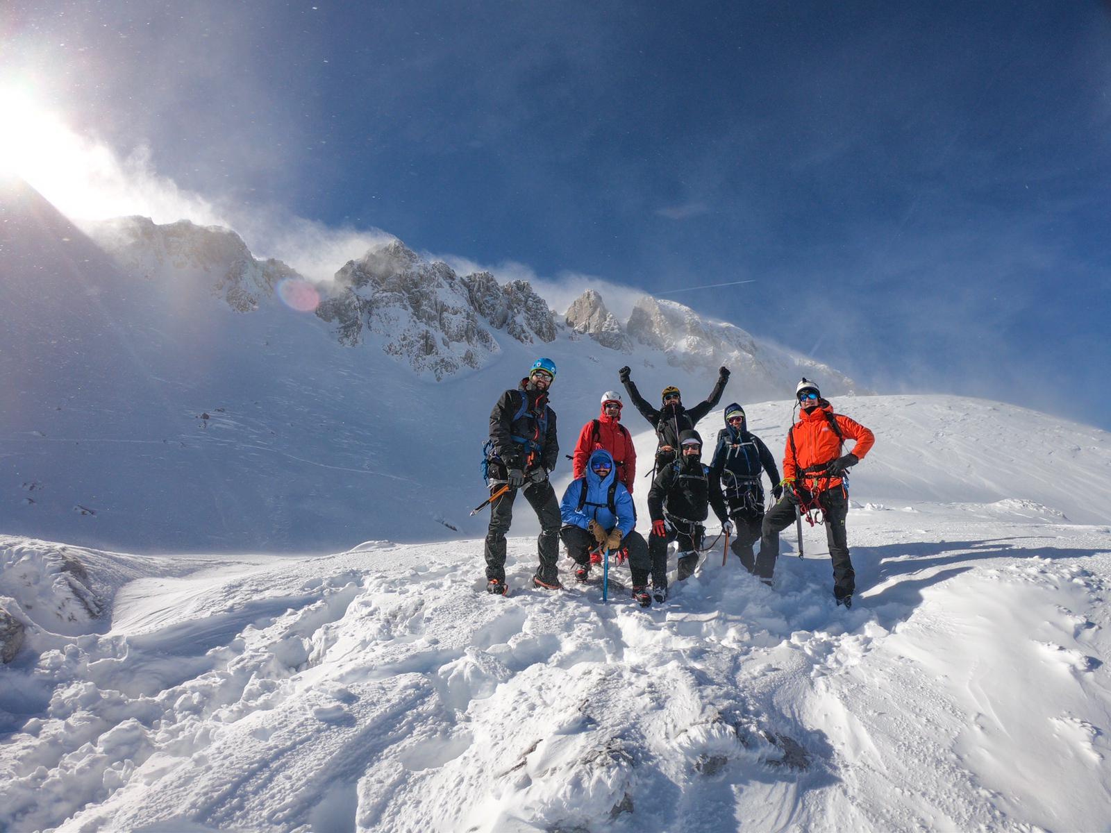 alpinismo invernale terminillo