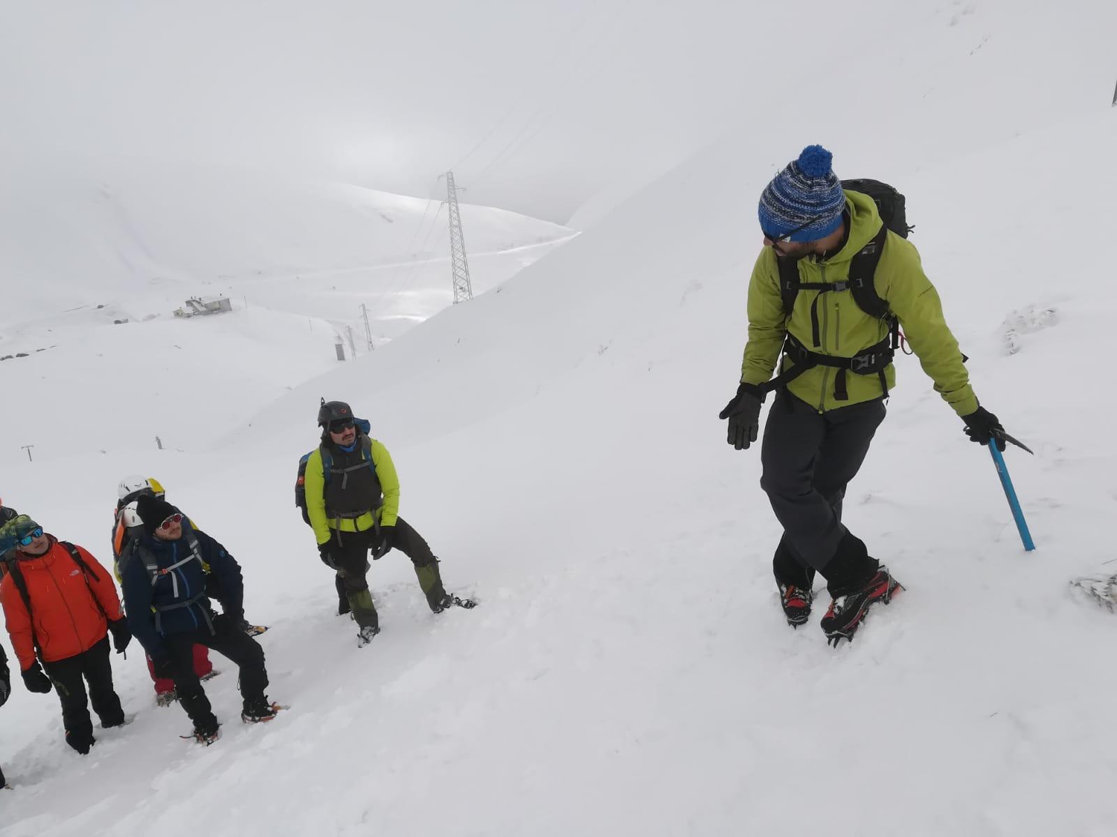 outdoor srl sul monte terminillo alpinismo