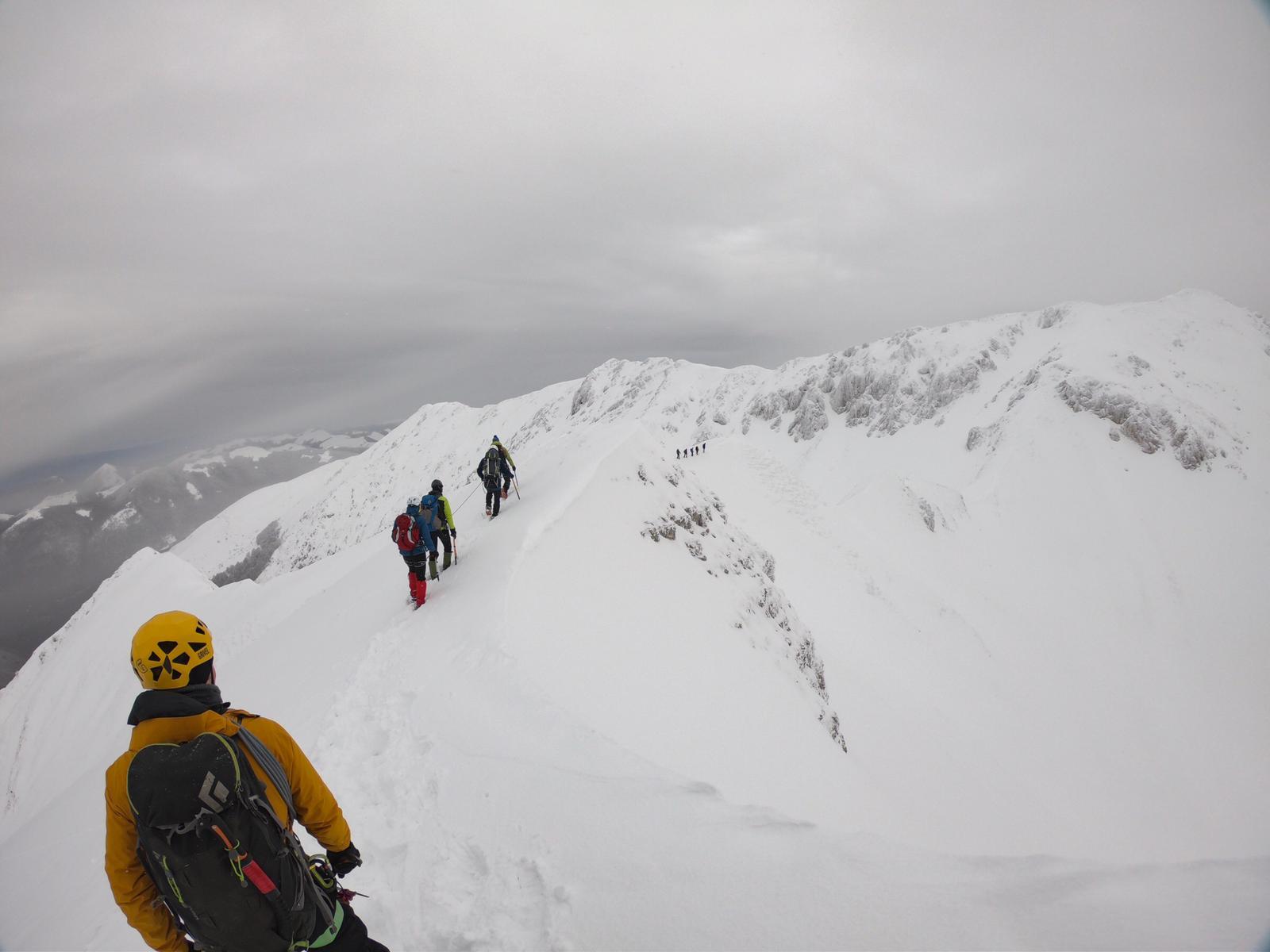 terminillo alpinismo invernale