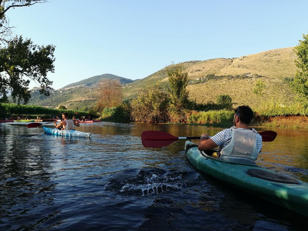 fiume cavata kayak outdoor srl